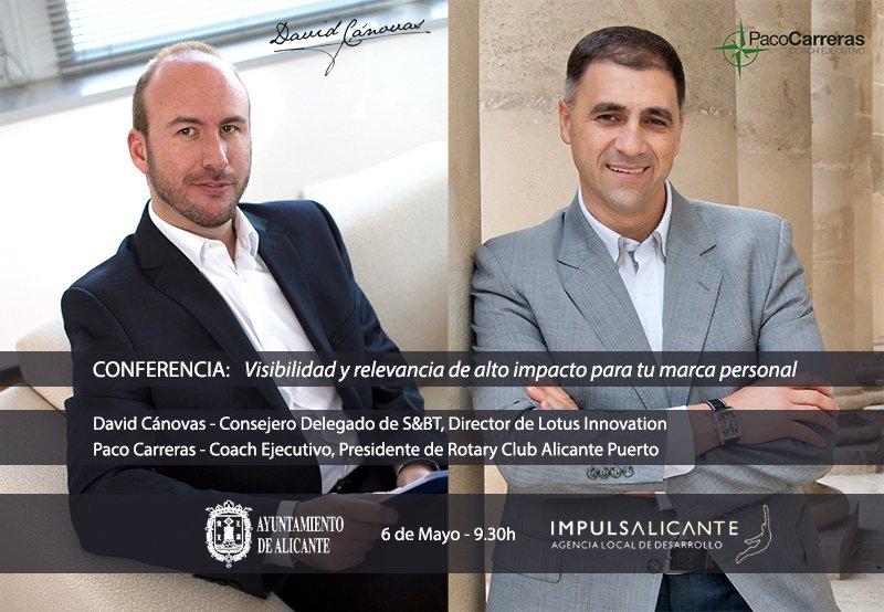 David Cánovas y Paco Carreras - Conferencia sobre Marca Personal